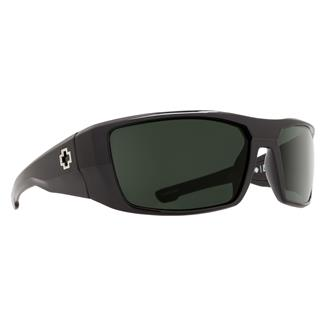 SPY Optic Dirk Black (frame) / Happy Gray / Green Polarized (lens)