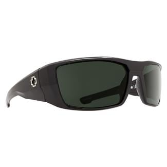 SPY Optic Dirk Black (frame) / Happy Gray / Green (lens)