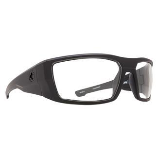 SPY Optic Dirk Matte Black ANSI Rx (frame) / Clear (lens)