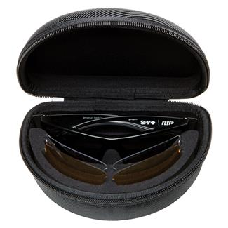 SPY Optic Flyer Kit Matte Black ANSI Rx (frame) / Happy Gray / Green - Happy Yellow - Clear (2 lenses)