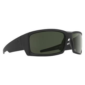 SPY Optic General Matte Black ANSI Rx (frame) / Happy Gray / Green (lens)