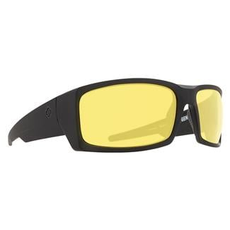 SPY Optic General Matte Black ANSI Rx (frame) / Happy Yellow (lens)