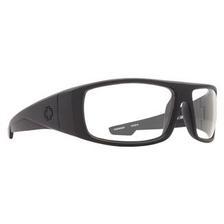 SPY Optic Logan Matte Black ANSI Rx (frame) / Clear (lens)