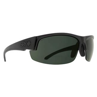 SPY Optic Sprinter Matte Black ANSI Rx (frame) / Happy Gray / Green Polarized (lens)