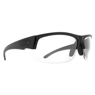 SPY Optic Sprinter Matte Black ANSI Rx (frame) / Clear (lens)
