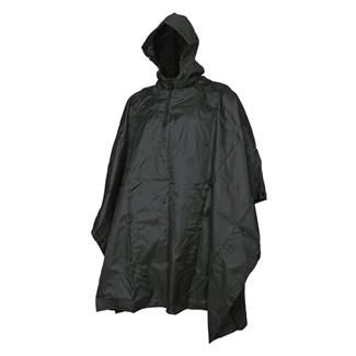 5ive Star Gear GI Spec Military Poncho Black