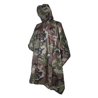 5ive Star Gear GI Spec Military Poncho Woodland