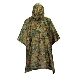 5ive Star Gear GI Spec Military Poncho Woodland Digital