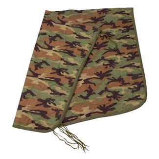5ive Star Gear Military Poncho Liner Woodland