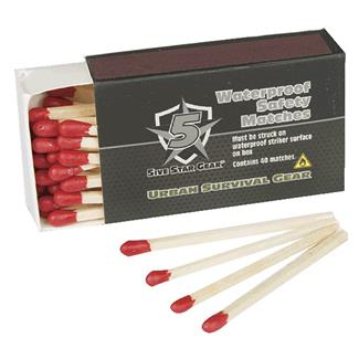 5ive Star Gear Waterproof Matches (4 Pack)