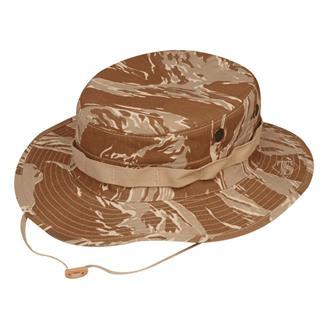 TRU-SPEC Cotton Ripstop Boonie Hat Desert Tiger Stripe
