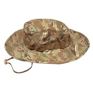 TRU-SPEC Nylon / Cotton Ripstop Wide Brim Boonie Hat All Terrain Tiger Stripe