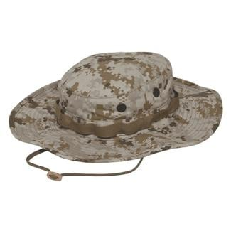 TRU-SPEC Poly / Cotton Ripstop Wide Brim Boonie Hat Desert Digital