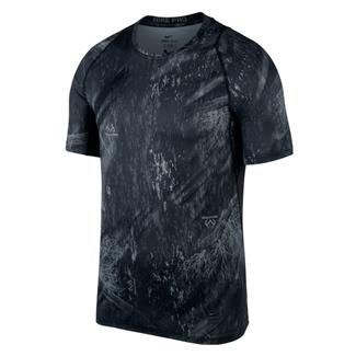 NIKE Pro Dri-Fit Shirt Black / Dark Gray