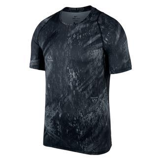 NIKE Pro Dri-Fit Shirt Black / Dark Gray