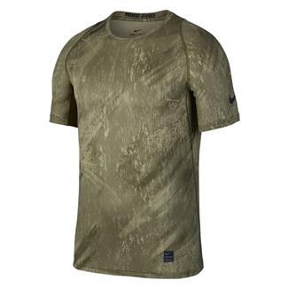 NIKE Pro Dri-Fit Shirt Olive Canvas / Neutral Olive / Black