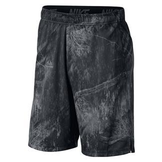 NIKE Dry Printed Training Shorts Black / Dark Gray