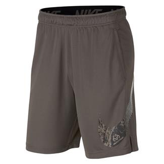 NIKE Dry Training Shorts Ridge Rock / Black
