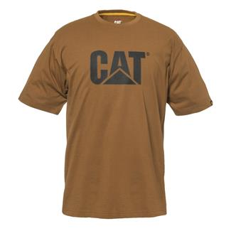 CAT TM Logo T-Shirt Bronze