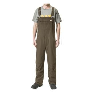 CAT Elemental Bib Overalls Dark Earth