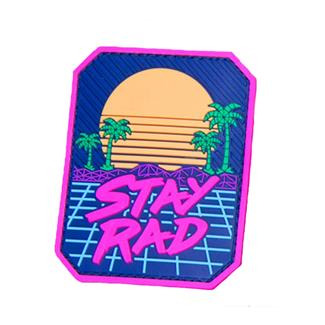Mil-Spec Monkey Stay Rad PVC Patch Full Color