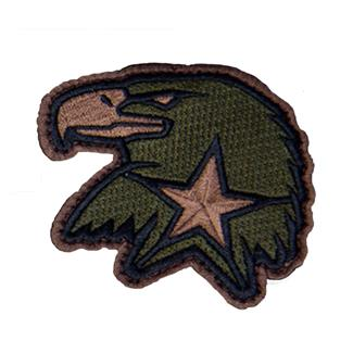 Mil-Spec Monkey Eagle Star EMB Patch Forest