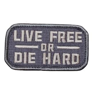 Mil-Spec Monkey Live Free Or Die Hard Patch ACU-Light