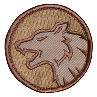 Mil-Spec Monkey Wolf Head Patch Desert