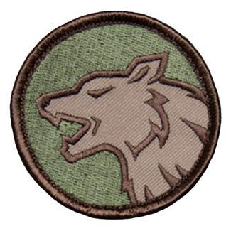 Mil-Spec Monkey Wolf Head Patch MultiCam
