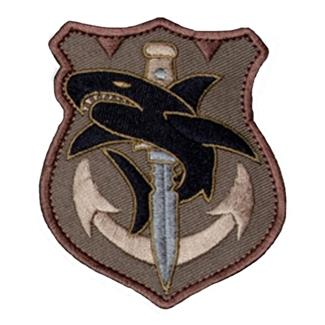 Mil-Spec Monkey Tac Shark Patch Forest