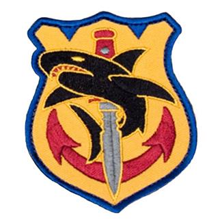 Mil-Spec Monkey Tac Shark Patch Full Color