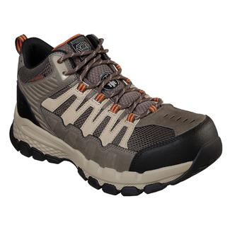 Skechers Work Queznell ST WP Light Tan