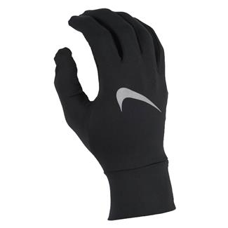 NIKE Dry Element Running Gloves Black / Silver