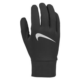 NIKE Lightweight Tech Running Gloves Black / Black / Silver