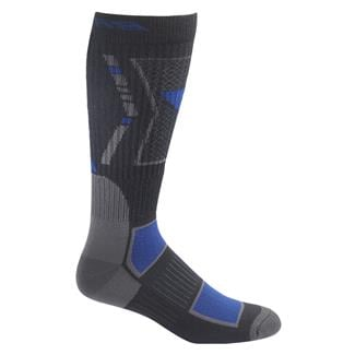 Bates Vented Performance Mid Calf Socks - 1 Pair Black