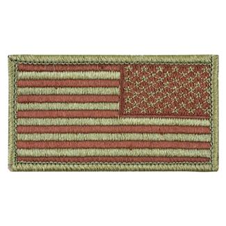 TG American Flag Reversed Patch Scorpion OCP Spiced Brown