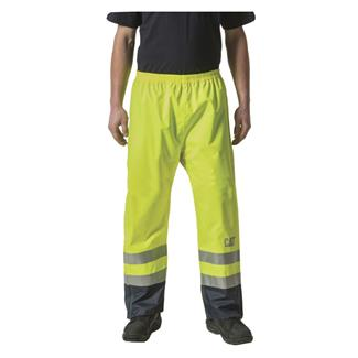 CAT Hi-Vis Waterproof Pants Hi-Vis Yellow
