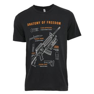 TG Anatomy T-Shirt Solid Dark Gray