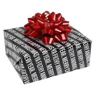 TG Filthy Animal Gift Wrap (8 Sheets)