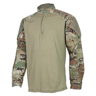 7affbbc519457 TRU-SPEC Nylon / Cotton 1/4 Zip Tactical Response Combat Shirt Scorpion OCP