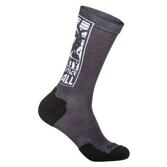 5.11 Sock And Awe Liberty Crew Socks Black