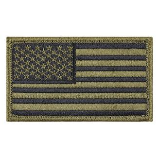 TG American Flag Patch Scorpion OCP Black