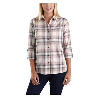 Carhartt Fairview Plaid Shirt Bluestone