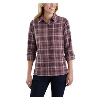 Carhartt Fairview Plaid Shirt Lavender Shadow