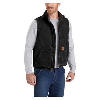 Carhartt Mock Neck Vest Black
