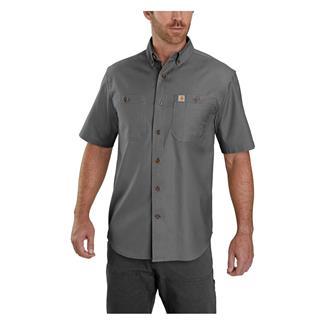 Carhartt Rugged Flex Rigby Work Shirt Gravel