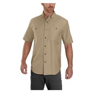 Carhartt Rugged Flex Rigby Work Shirt Dark Khaki