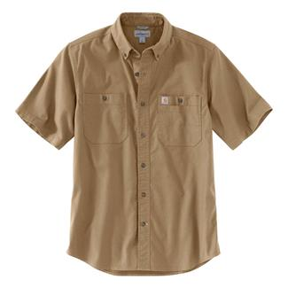 Carhartt Rugged Flex Rigby Work Shirt Dark Khaki