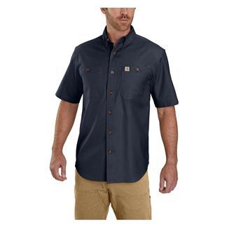 Carhartt Rugged Flex Rigby Work Shirt Navy