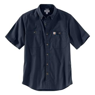 Carhartt Rugged Flex Rigby Work Shirt Navy
